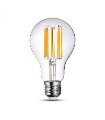 V-Tac 18W LED pære - Karbon filamenter, A67, E27