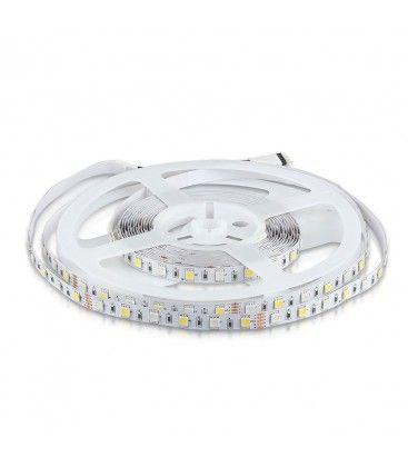 V-Tac 10,8W/m RGB+NW LED strip - 5m, 60 LED per meter