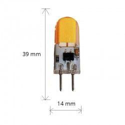 LEDlife KAPPA3 LED pære - 3W, dimbar, 12V-24V, GY6.35
