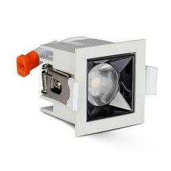 LED downlights V-Tac 4W LED downlight - Hull: 4,5x4,5 cm, Mål: 5,5x5,5 cm, UGR19, RA90, Samsung LED chip, 230V