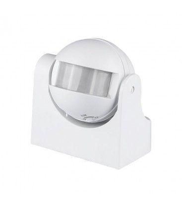 V-Tac bevegelsessensor - LED vennlig, hvit, PIR infrarød, IP44 utendørs