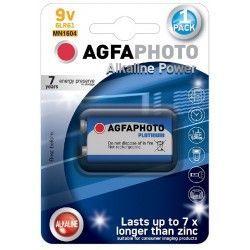 Batterier B1 1 stk AgfaPhoto batteri - Alkaline, 9V