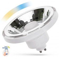 G53 AR111 LED 10W Hvit Smart Home LED spot - Google Home, Amazon Alexa kompatibel, GU10 AR111