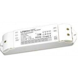 Drivere Ltech 30W dimbar driver til LED panel - Triac + push-dim, flicker free, passer våre 6W og 12W LED panel og 29W store paneler