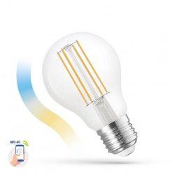 E27 vanlig LED 5W Smart Home LED pære - Verker med Google Home, Alexa og smartphones, E27, A60
