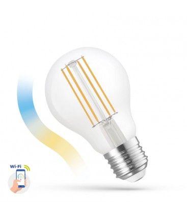 5W Smart Home LED pære - Virker med Google Home, Alexa og smartphones, E27, A60