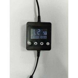 24V LED timer med DC stik - Til enkelfarget LED, 12/24V, maks. 150W