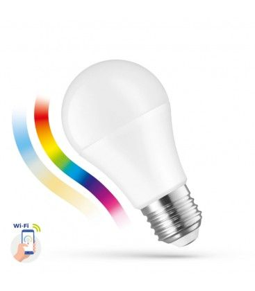 13W Smart Home LED pære - Verker med Google Home, Alexa og smartphones, E27, A60