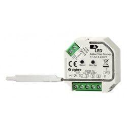 230V LED dimmere Zigbee innbyggingsdimmer - 200W LED dimmer, kip-tryk/push dim, korrespondanse, memory funksjon
