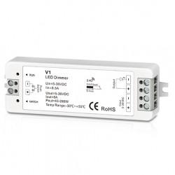 12V IP68 RGB Trådløs dimmer uten fjernkontroll - RF trådløs, 12V (96W), 24V (192W)