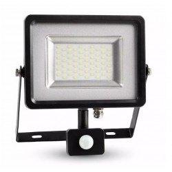 Lyskastere Restsalg: V-Tac 30W Lyskaster med sensor - SMD