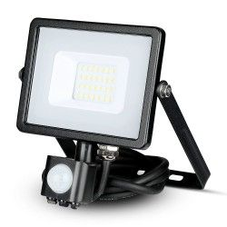Lyskastere Restsalg: V-Tac 20W Lyskaster med sensor - SMD