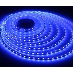 LED strips Blå 450 nm 4,8W/m LED stripe - 5m, IP20, 60 LED per meter