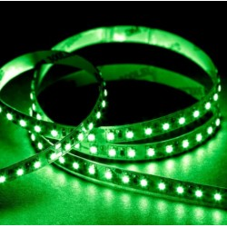 LED strips Grønn 525 nm 4,8W/m LED stripe - 5m, IP20, 60 LED per meter