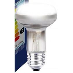 Industri Klar E27 60W lyskaster glødetrådspære - Classic, 400lm, dimbar, R63