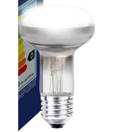 Klar E27 60W lyskaster glødetrådspære - Classic, 400lm, dimbar, R63
