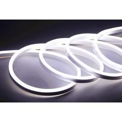230V Neon Flex Kald hvit 8x16 Neon Flex LED - 8W per meter, IP67, 230V