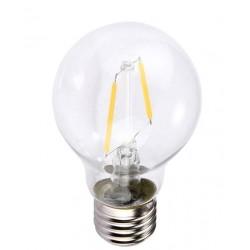 Restsalg: 2W LED kronepære - Karbon filamenter, E27, A60