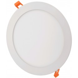 LED-paneler 6W LED panel downlight - Hull: Ø11 cm, Mål: Ø12 cm, 230V, Samsung LED chip