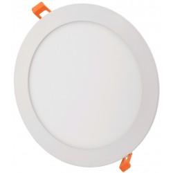 Downlights 6W LED panel downlight - Hull: Ø11 cm, Mål: Ø12 cm, 230V