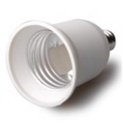 E40 LED E12 til E27 adapter