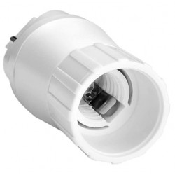 E40 LED G24D til E14 adapter