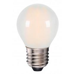 E27 vanlig LED 4W LED pære - 3-trinns dimbar, mattert, 230V, E27