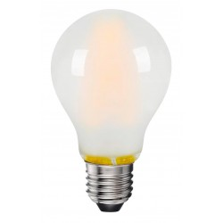 8W LED pære - 3-trinns dimbar, mattert, 230V, E27
