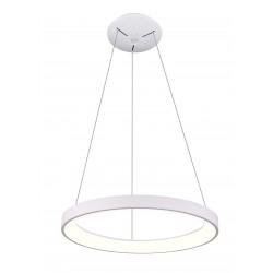 LED pendel LEDlife Nordic48 Dimbar LED lampe - Moderne indirekte lys, Ø48, hvit, inkl. oppheng