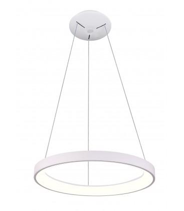 LEDlife Nordic48 Dimbar LED lampe - Moderne indirekte lys, Ø48, hvit, inkl. oppheng