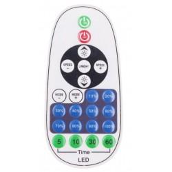 LED strips RF trådløs timer+dimmer med fjernkontroll - Inkl. endestykke, til 230V (Type Q), minnefunksjon