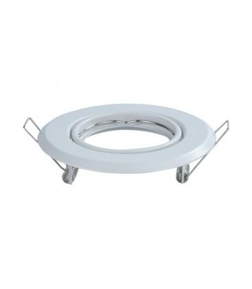 Downlight kit uten lyskilde - Høyde: Ø7 cm, Mål: Ø9,3 cm, Hvit, vælg MR16 eller GU10 fatning