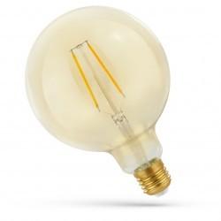 Smart Home 5,5W Smart Home LED globepære - Google Home, Amazon Alexa kompatibel, Karbon filamenter, G125, E27