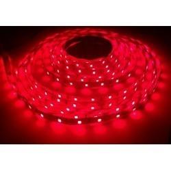 12V Nær infraröd 730nm 4,8W/m LED stripe - 5m, IP20, 60 LED per meter