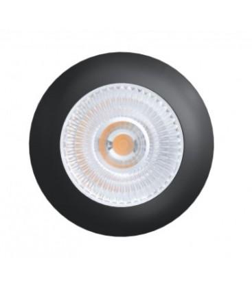 LEDlife Unni68 møbelspot - Høyde: Ø5,6 cm, Mål: Ø6,8 cm, RA95, svart, 12V