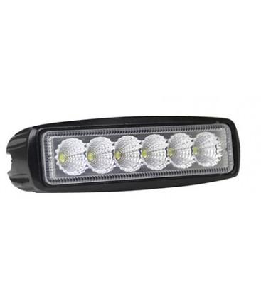 LEDlife 18W LED arbeidslys/ekstralys - Bil, lastebil, traktor, trailer, utrykningskjøretøyer, IP67 vanntett, 10-36V