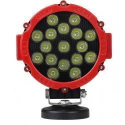 Kjøretøyslys LEDlife 51W LED arbeidslys/ekstralys - Bil, lastebil, traktor, trailer, utrykningskjøretøyer, IP67 vanntett, 10-60V