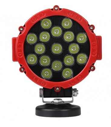 LEDlife 51W LED arbeidslys/ekstralys - Bil, lastebil, traktor, trailer, utrykningskjøretøyer, IP67 vanntett, 10-60V