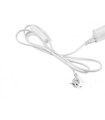 100 cm kabel til vanlig stikkontakt - Med bryter og støpsel, passer til LEDlife Easy-Grow og Pro-Grow