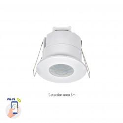 Sensorer Smart Home indbyggingssensor - PIR infrarød, 360 grader, 230V, IP20 innendørs