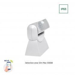 Sensorer Smart Home veggsensor - PIR infrarød, 180 grader, 230V, IP65 utendørs