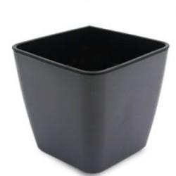 Selvvanningspotter Selvvanningspotte 10x10 - Firkantet, svart, 10x10 cm