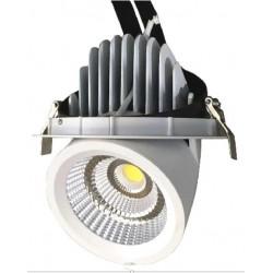 LED downlights LEDlife 30W Kjøtt Downlight - justerbar vinkel, spesial lys til kjøtt