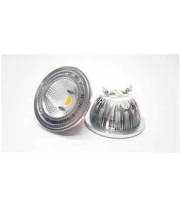 MANO5 LED spot - 5W, dimbar, varm hvit, 230V, G53 AR111