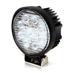 Lyskastere til kjøretøy 27W LED arbeidslys - Bil, lastebil, traktor, trailer, utrykningskjøretøyer, kald hvit, 12V / 24V
