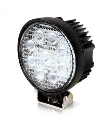 27W LED arbeidslys - Bil, lastebil, traktor, trailer, utrykningskjøretøyer, kald hvit, 12V / 24V
