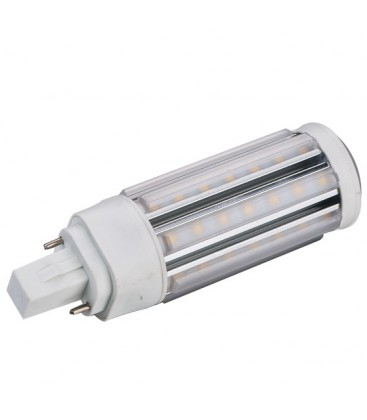 LEDlife GX24Q LED pære - 9W, 360°, varm hvit, klar glass