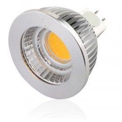 MR16 GU5.3 LED LEDlife COB5 LED spotpære - 4.5W, dimbar, 12V, MR16 / GU5.3
