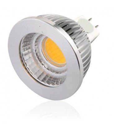 LEDlife COB5 LED spotpære - 4.5W, dimbar, 12V, MR16 / GU5.3