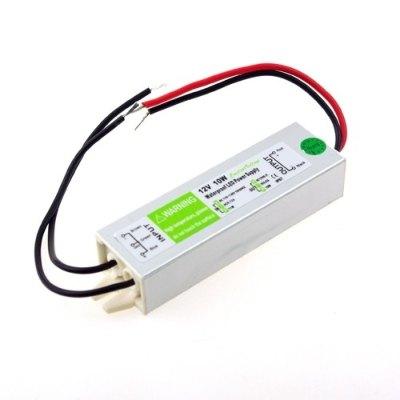 Bilde av 10w Strømforsyning - 12v Dc, 0,8a, Ip67 Vanntett